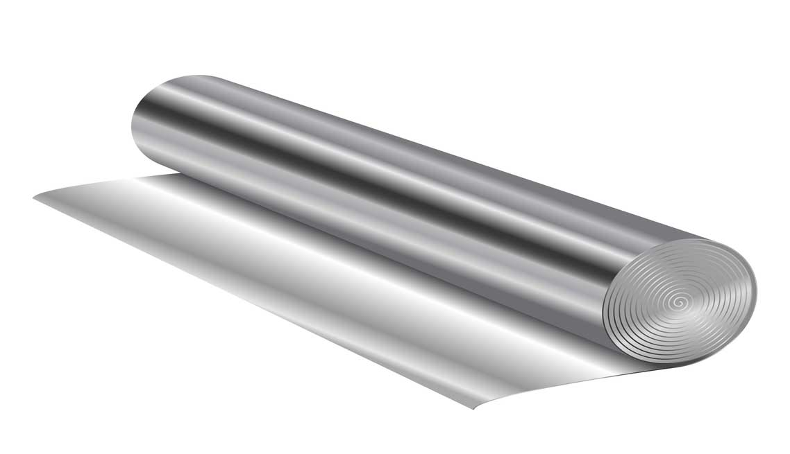 GLASS SEALING AND EXPANSION FOIL