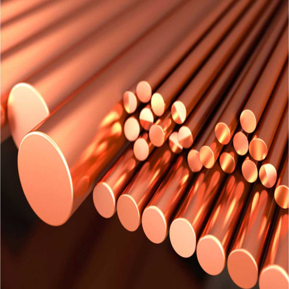 Beryllium Copper Rod 8 mm x 200 mm