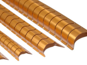 <strong>Right-Angle Series : </strong></br>  This fingerstock series of EMI/RFI shielding products is specifically designed for 90 degree applications where mounting to the surface perpendicular to the finger compression area is required.